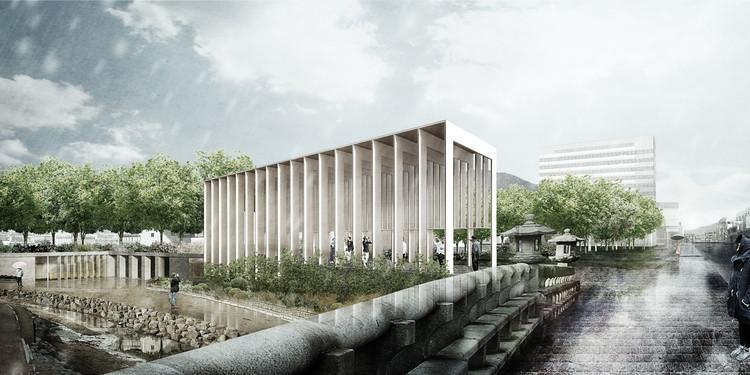 Studio MADe, ganadores del Suncheon Art Platform en Corea del Sur, Cortesía de Studio MADe