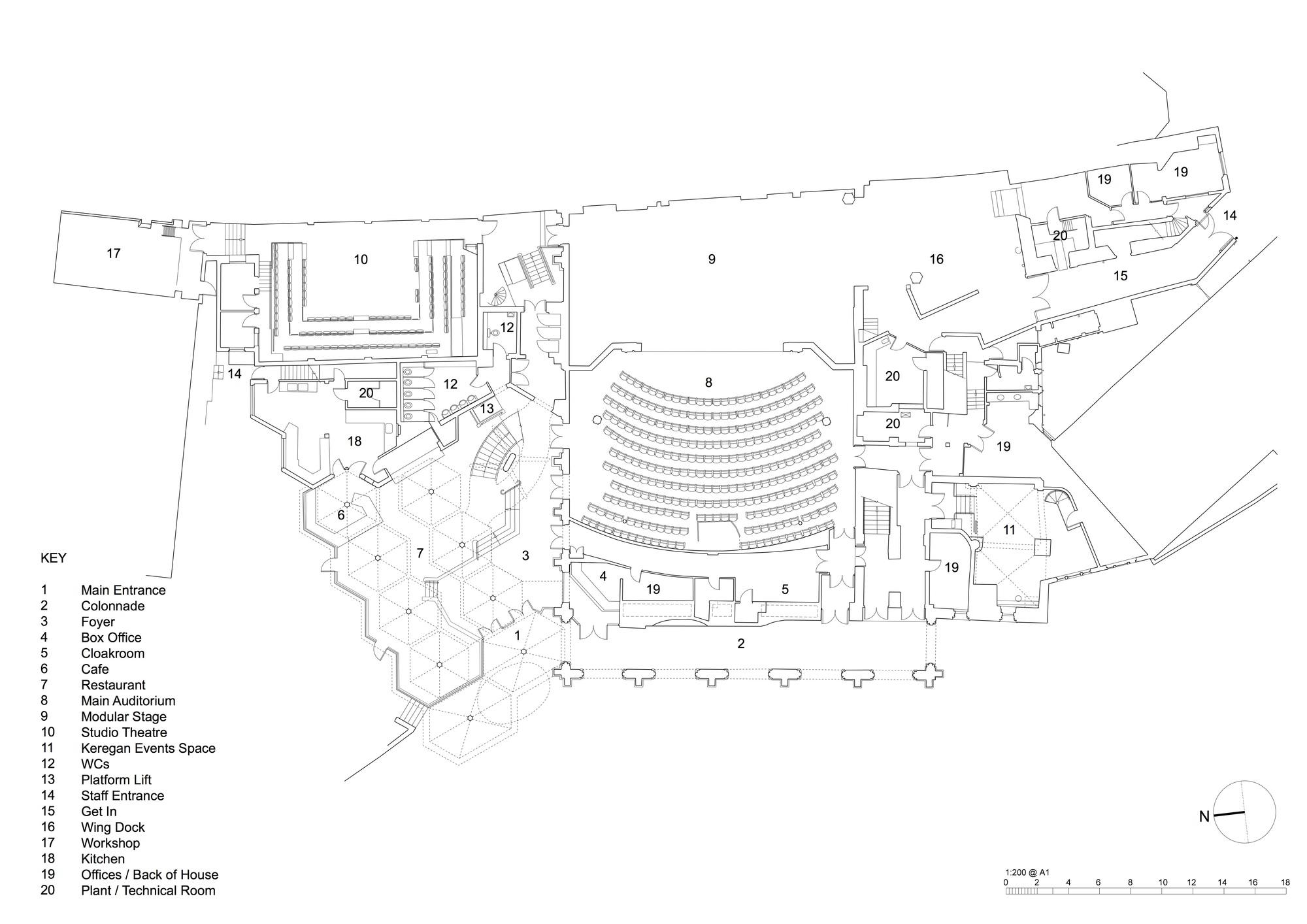 100 royal festival hall floor plan duchess theatre seat