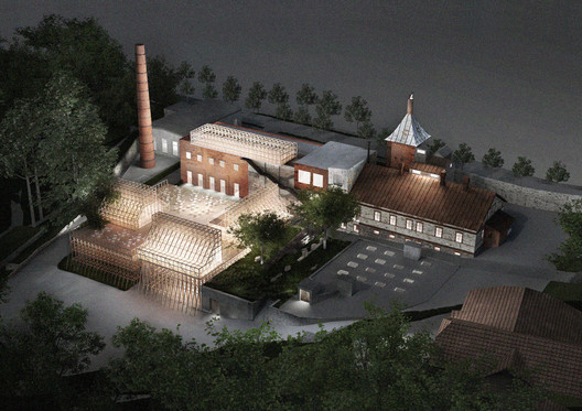 Mailitis A.I.I.M. Transforms Old Brewery in Latvia Into Science and Arts Hub