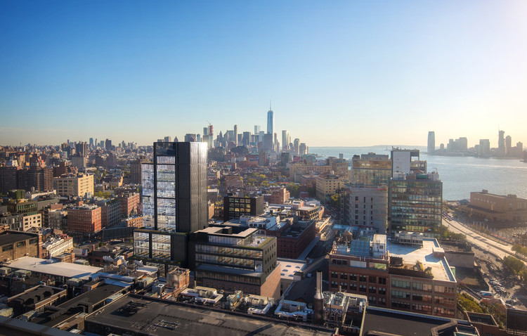 CetraRuddy Designs Tallest Building in New York's Meatpacking District, Courtesy of CetraRuddy