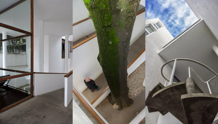 Detalles de los interiores en la Casa Curutchet, por colectivo 'Caminando La Plata', © Colectivo 'Caminando La Plata'