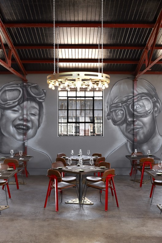Mad Giant Beer Interior Haldane Martin Archdaily