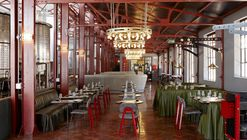 Mad Giant Beer Interior  / Haldane Martin