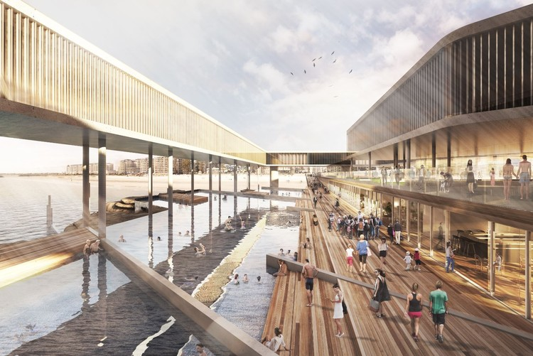 Woods Bagot Unveils Public Jetty Design for South Australia, Courtesy of Woods Bagot