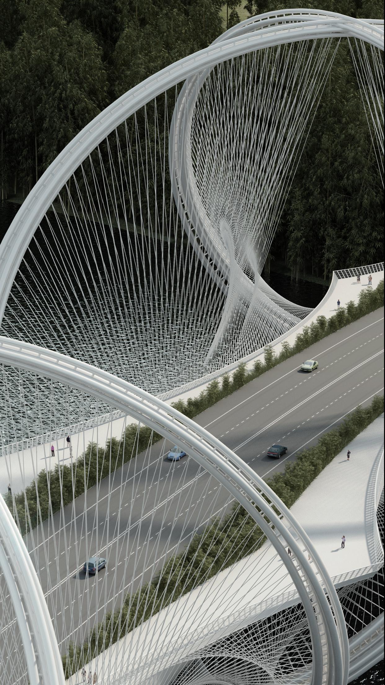 Galeria de penda projeta ponte inspirada nos an 233 is ol 237 mpicos em