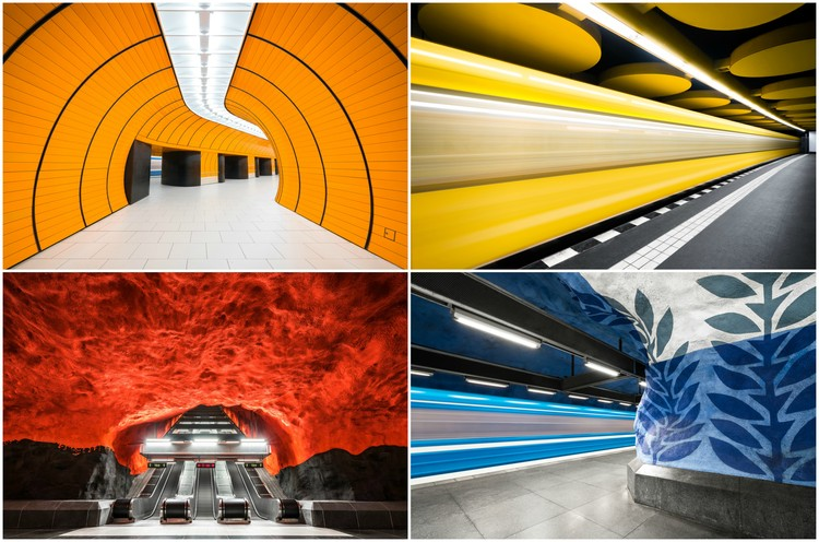 These Photographs Capture the Colorful Architecture of Europe's Metro Stations, © Chris Forsyth
