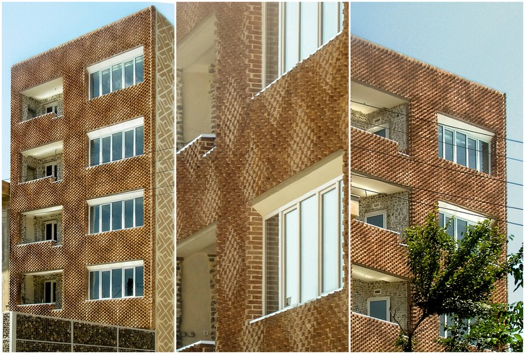"""""""DIY For Architects"""": This Parametric Brick Facade Was Built Using Traditional Craft Techniques, Courtesy of Sstudiomm"""