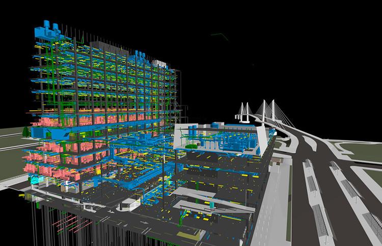 10 pasos para simplificar la transición de tu empresa a BIM, OHSU/PSU/OSU Collaborative Life Sciences Building por SERA Architects y CO Architects. Imagen © SERA Architects