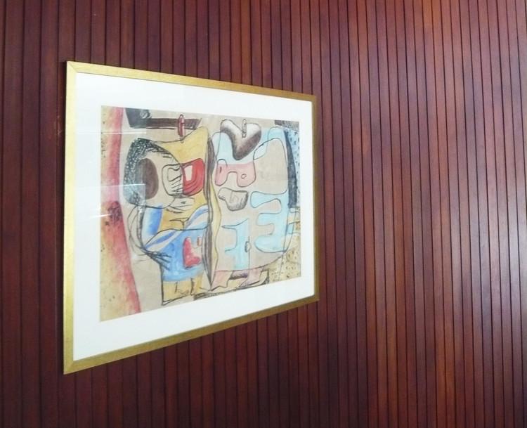 cuadro ubicado en el salón de la Casa das Canoas. Ph. 2012. Image © Archivo Luca Bullaro