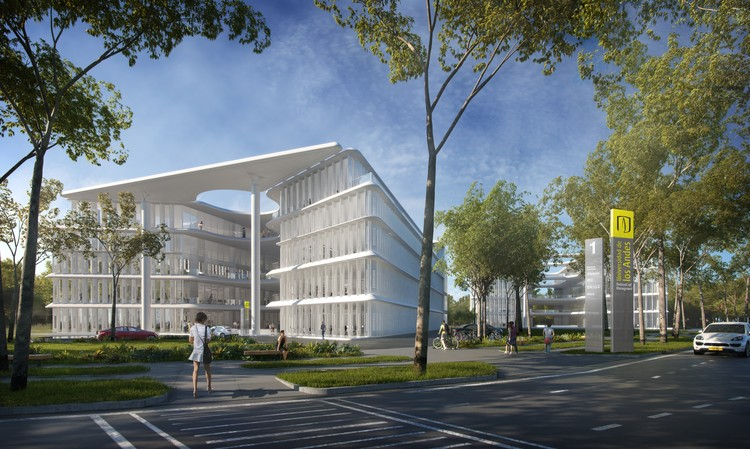 Brandon Haw Unveils Plans for University Building in Colombia, Courtesy of Brandon Haw Architecture (BHA)