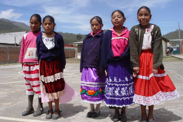 Pueblo San Antonio Tierras Blancas, en Michoacán, México.. Image Cortesía de INBA