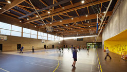 Secondary School, Sport Hall and Cultural Center  / Chartier Dalix Architectes