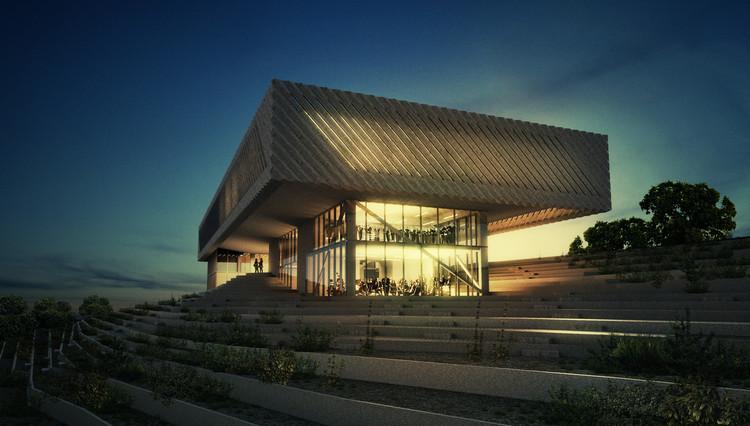 Pliskin Architecture Reveals Proposal for Music School in Israel , Courtesy of Pliskin Architecture
