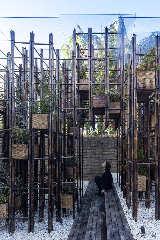 Green Ladder / Vo Trong Nghia Architects, © Brett Boardman