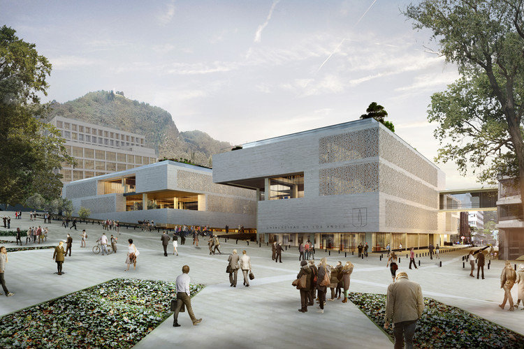 Conoce el futuro centro cívico universitario diseñado por Konrad Brunner y Cristián Undurraga en Bogotá, Cortesía de Cristián Undurraga + Konrad Brunner