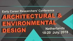 Early Career Researchers Conference: Architecture And Environmental Design ( AED)