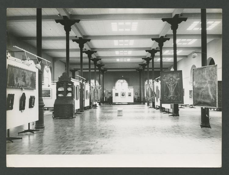 Palacio de la Exposición, exposición permanente del MALI. 1966. Estudio Courret Hermanos. Image © Archi. Archivo Digital de Arte Peruano