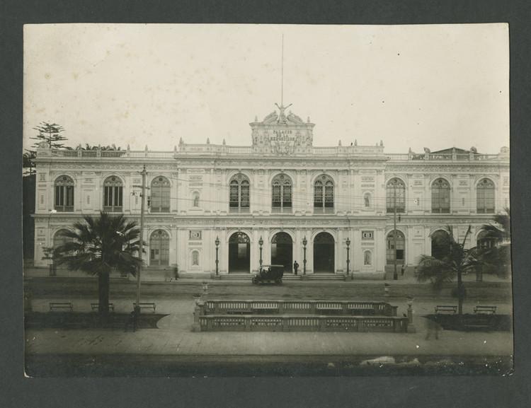 Palacio de la Exposición, fachada norte. 1920. Image © Archi. Archivo Digital de Arte Peruano