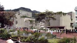 Taller Síntesis + Connatural, finalistas del centro cívico de Universidad Los Andes en Bogotá