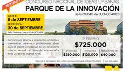 Concurso Nacional de Ideas Urbanas Parque de la Innovación / Buenos Aires