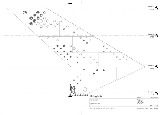 The project's drawings show how the steel plates were welded together into a single piece.