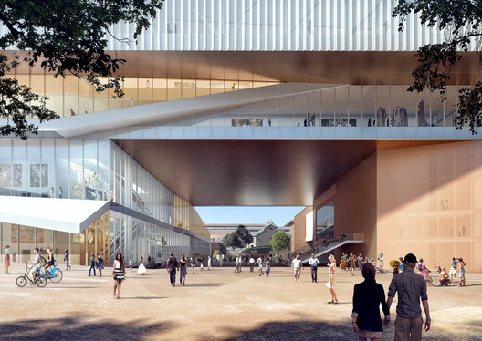 New Museum – Museum Street entrance. Image Courtesy of HASSEL + OMA