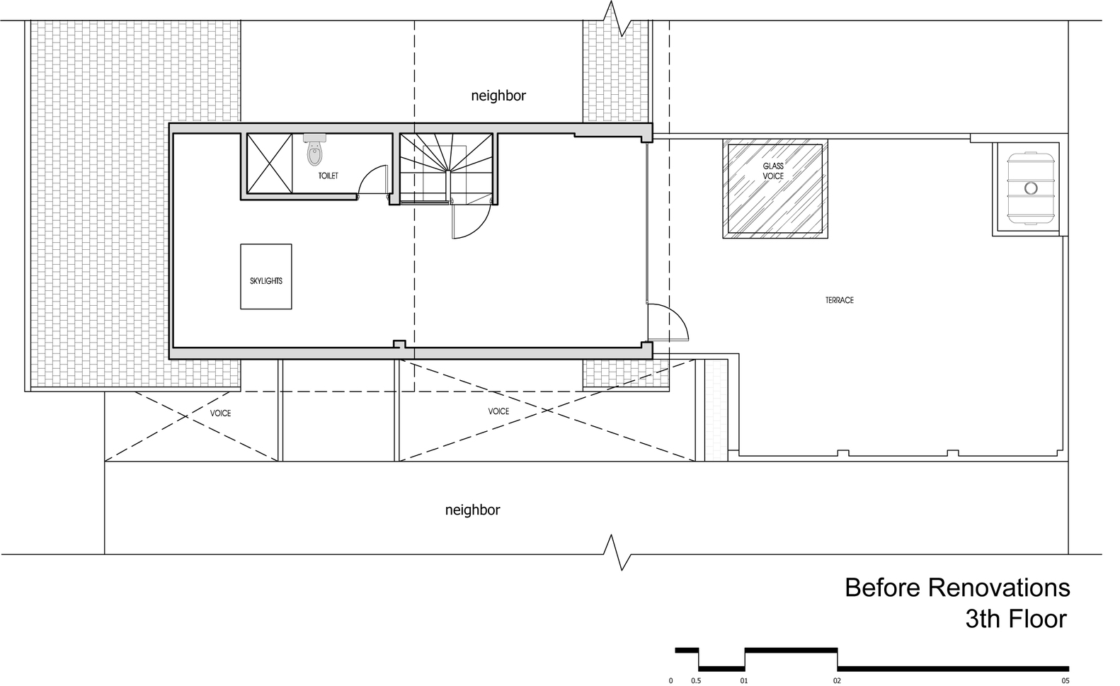 Gallery of attic apartment tropikon 10 for Apartment renovation plans
