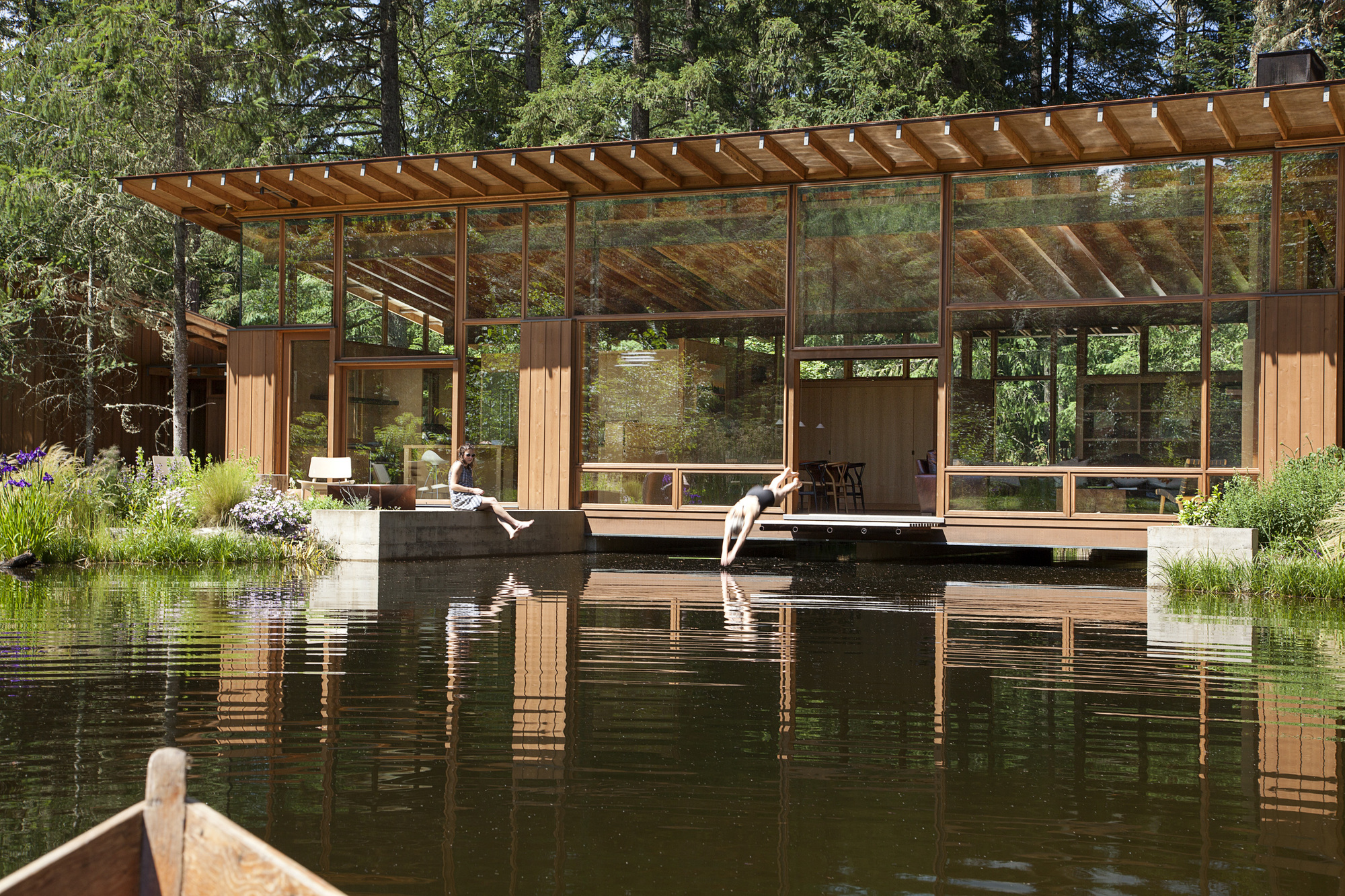 Gallery of newberg residence cutler anderson architect 10 for Anderson architects