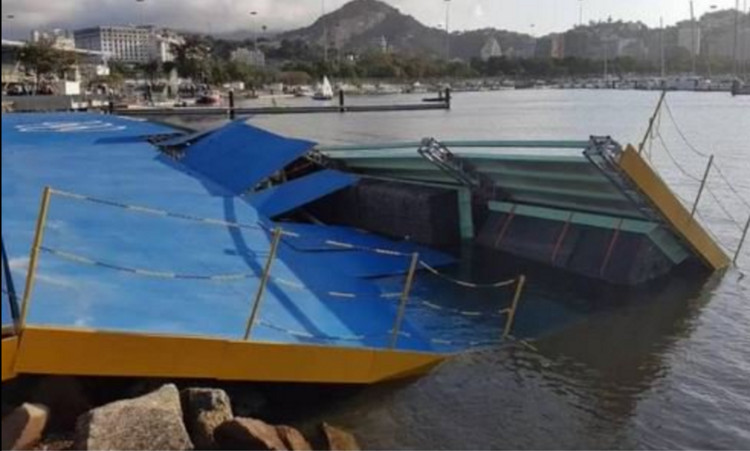 More Struggles Ahead of Rio Olympics as Ramp Collapses at Sailing Venue, via Courier Mail