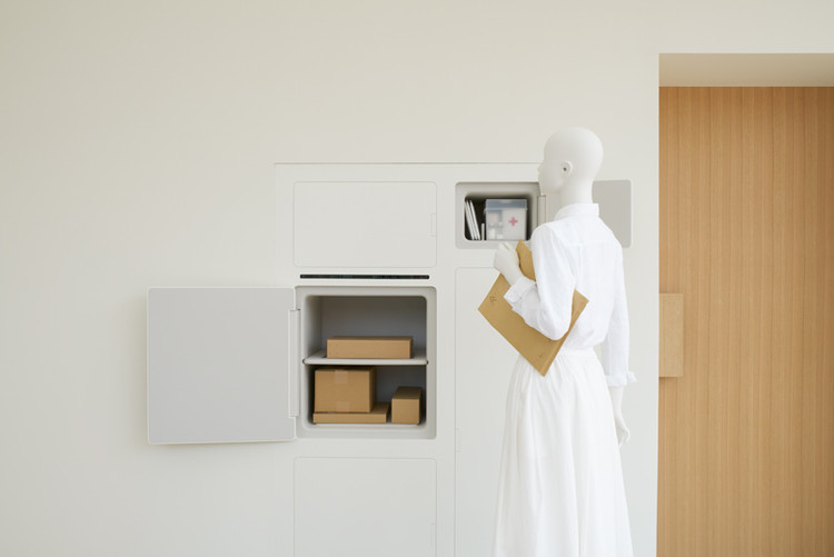 The House with Refrigerator Access from Outside / Yamato Holdings × Fumie Shibata. Image Courtesy of HOUSE VISION Tokyo