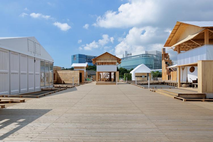 Venue Entrance / Kengo Kuma. Image Courtesy of HOUSE VISION Tokyo