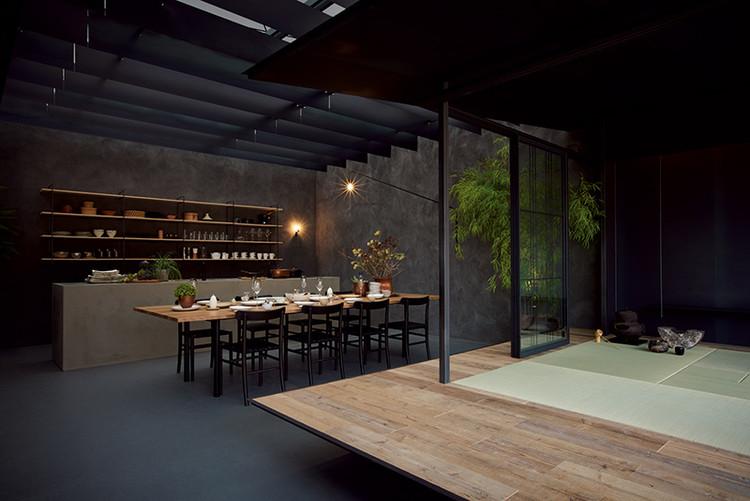 Nomad House / Mitsukoshi Isetan × Tanijiri Makoto Ai Yoshida. Image Courtesy of HOUSE VISION Tokyo