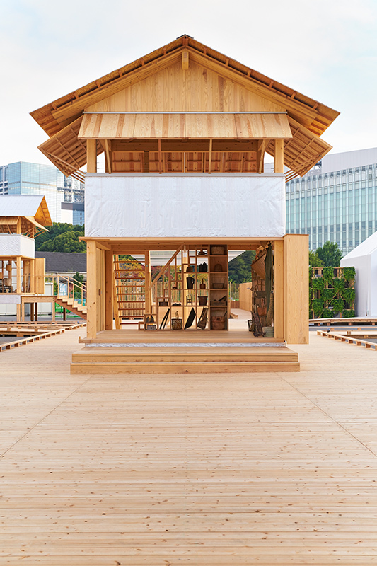 tanada terrace office muji atelier bow wow image courtesy of house vision atelier bow wow office nap