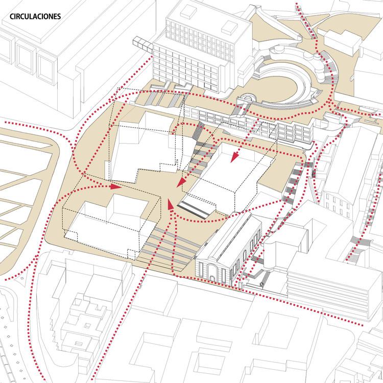 Circulaciones. Image Cortesía de La Rotta Arquitectos