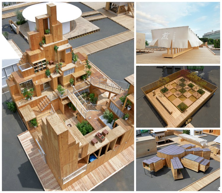 New Images of Completed Pavilions Released as HOUSE VISION Tokyo Opens to the Public, Courtesy of HOUSE VISION Tokyo