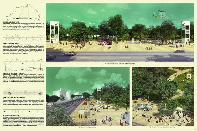 Los 5 proyectos del (fallido) Concurso Parque Constituyentes de Ciudad de México, Cortesía de PRODUCTORA