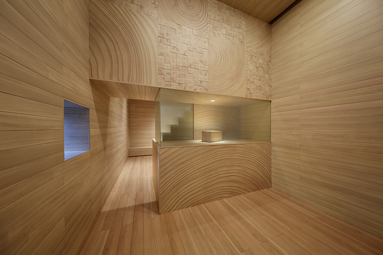 Woodgrain House / Toppan Printing × Hara Design Institute. Image Courtesy of HOUSE VISION Tokyo