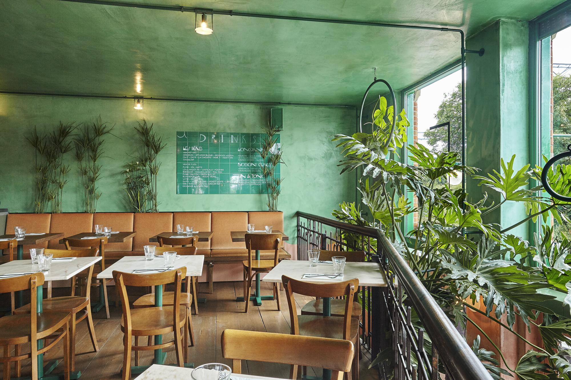 bar botanique cafe tropique / studio modijefsky | archdaily