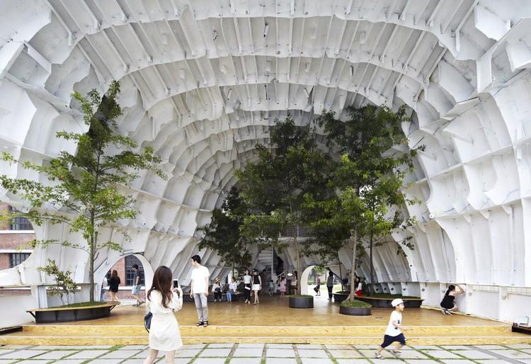 YAP Seúl – Temp'L  / shinslab architecture , © Kim Yong-Gwan