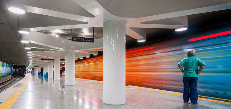 Uruguai Station. Image © Nelson Kon