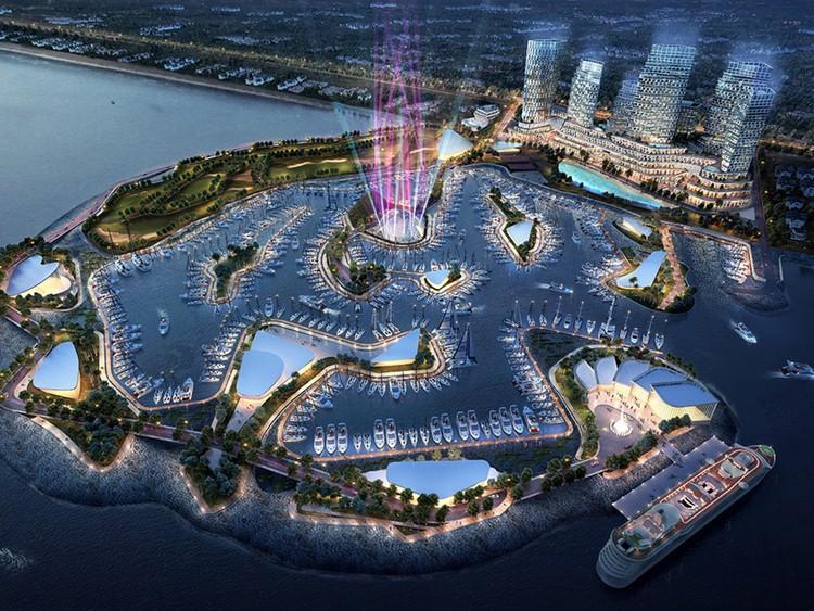 Construirán en Estambul un archipiélago artificial para deportes acuáticos, Cortesía de Forum Studio