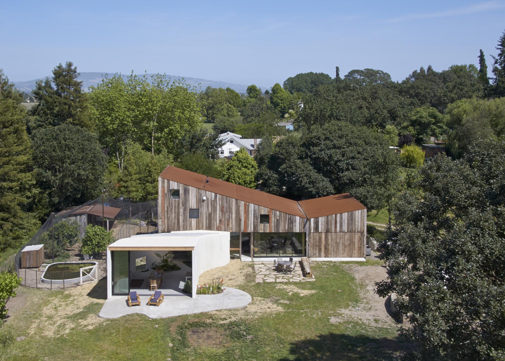 Gallery Of Artist Studio In Sonoma Mork Ulnes Architects 1