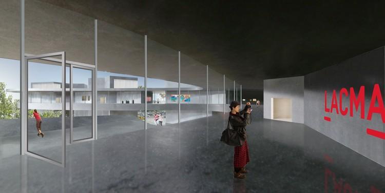 Escalera Norte - Nivel de Exposiciones. Imagen Cortesía de LACMA