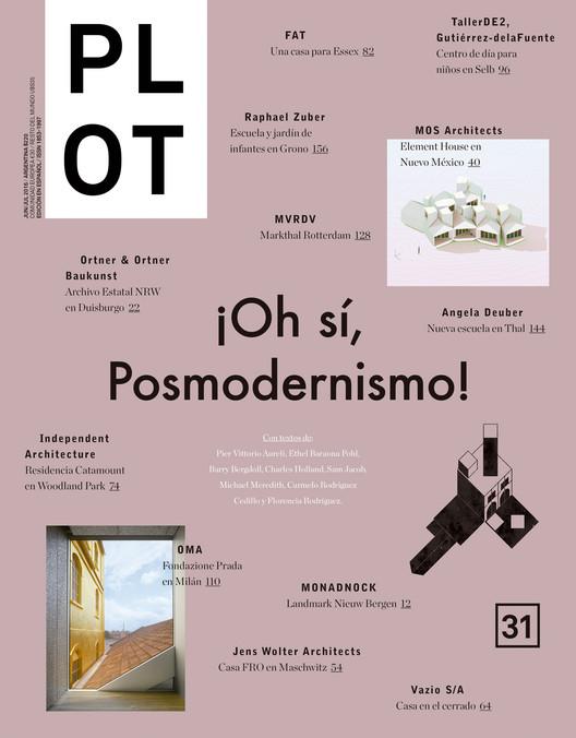 Revista Plot #31 ¡OH SÍ, POSMODERNISMO!, Cortesía de PLOT