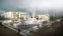 Second-Place Design Proposes Revitalization of Busan with Film in Korea