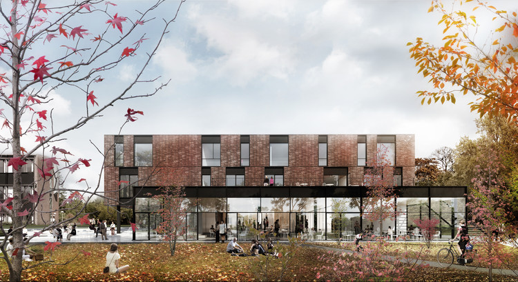 Friis & Moltke and WE Architects Win Competition for University Campus in Denmark, Courtesy of Friis & Moltke + WE architects