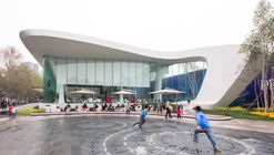 Haishang Plaza Sales Center  / Amphibian Arc