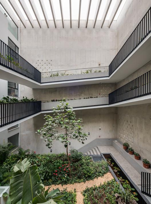 Morphology Building / Talia Valdez + Nómena Arquitectos, © Diego Franco Coto