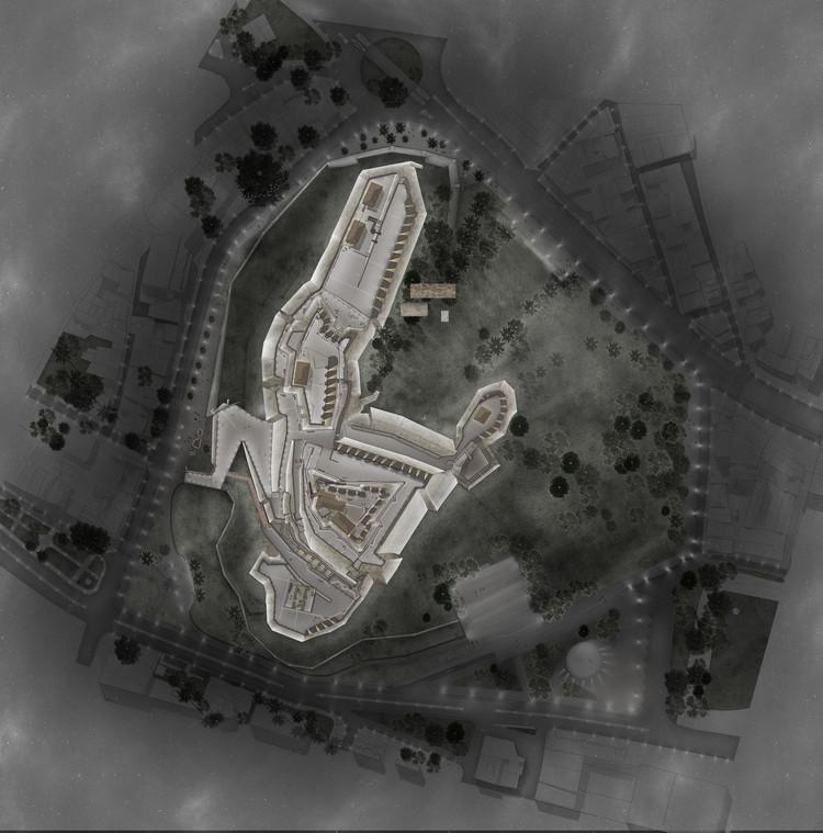 Planta de emplazamiento. Image Cortesía de Colectivo 720 + De Arquitectura y Paisaje