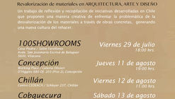 Presentación Libro REHACER LO DES(H)ECHO: Revalorización de Materiales en Arquitectura, Arte y Diseño / Concepción